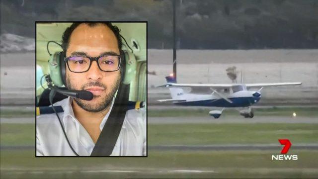 პილოტმა პირველი ფრენის გაკვეთილზე, სადაც ინსტრუქტორმა გონება დაკარგა, ხომალდი უსაფრთხოდ დასვა|ვიდეო