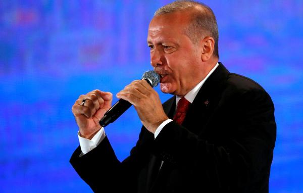 ერდოღანის თქმით, მიუღებელია რომ თურქეთს ბირთვული იარაღის ფლობის უფლება არ აქვს