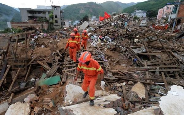 ჩინეთში 5.4 მაგნიტუდის მიწისძვრა მოხდა, არის მსხვერპლი