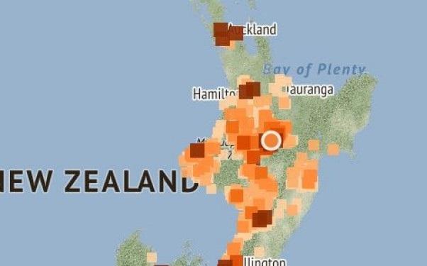ახალ ზელანდიაში 5.2 მაგნიტუდის სიმძლავრის მიწისძვრა მოხდა