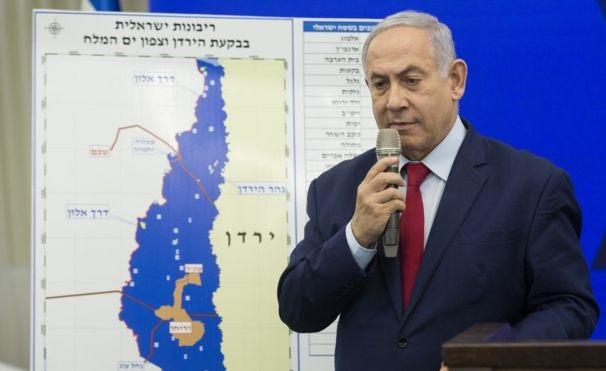 ისრაელის პრემიერ-მინისტრმა ოკუპირებული ტერიტორიების ანექსიის გეგმა წარადგინა
