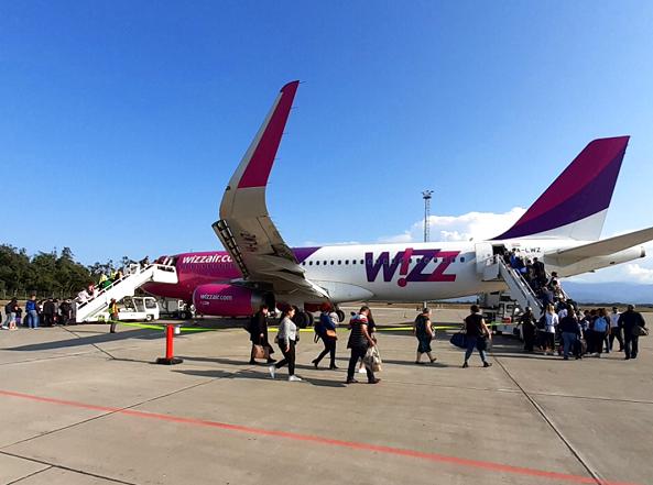 ქუთაისის საერთაშორისო აეროპროტიდან ბარის მიმართულებით პირველი პირდაპირი რეისი შესრულდა