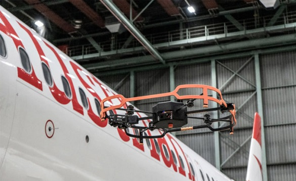 Austrian Airlines-ითვითმფრინავების ინსპექტირებას დრონებითახდენს / ვიდეო