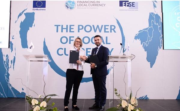EFSE-მა ბაზისბანკს 10 მილიონი ევროს ოდენობით საკრედიტო ხაზი გამოუყო