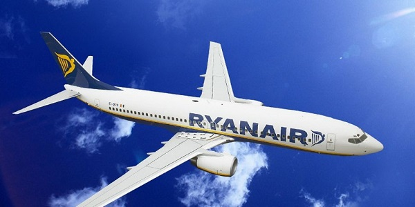 Ryanair-ის ტრაფიკი სექტემბერში 8%-ით გაიზარდა