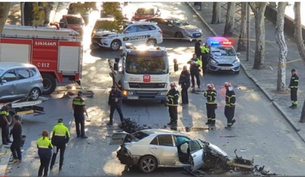 ავარიას მშრალი ხიდთან ერთი პირი ემსხვერპლა, ორი დაშავდა