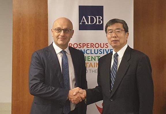 აზიის განვითარების ბანკის პრეზიდენტი: საქართველოს  აქვს შესაძლებლობა, დაიკავოს ძალიან მნიშვნელოვანი ადგილი ევროპასა და აზიას შორის  სავაჭრო-ეკონომიკური თანამშრომლობის გაღრმავების პროცესში