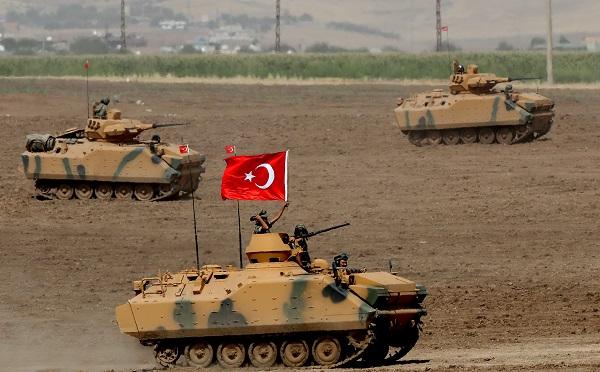 თურქეთმა, სირიაში სამხედრო ოპერაცია დაიწყო