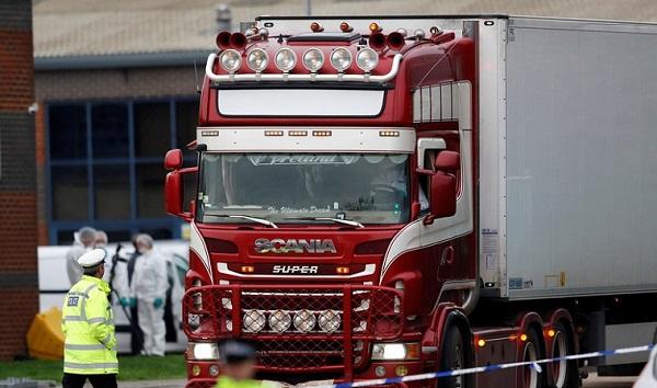 ბრიტანეთში, სატვირთო ავტომობილში ნაპოვნი 39 ცხედარი ჩინეთის მოქალაქეების აღმოჩნდა