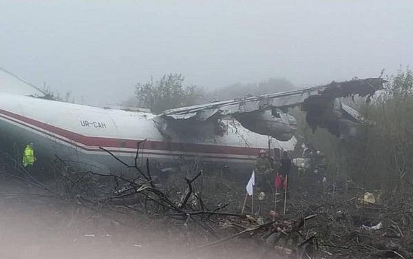 უკრაინაში თვითმფრინავი ჩამოვარდა - არის მსხვერპლი