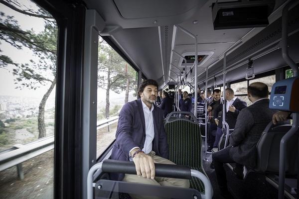 ISUZU –ს მარკის 8-მეტრიანი ავტობუსი N34 მარშრუტზე გავიდა