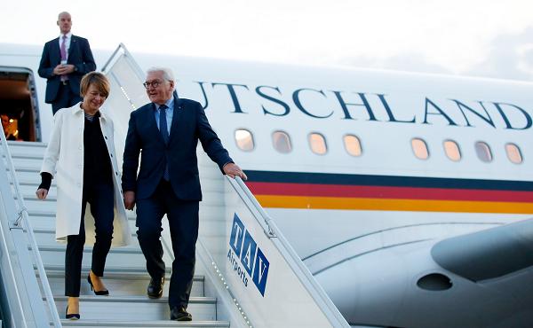 გერმანიის პრეზიდენტი საქართველოშია