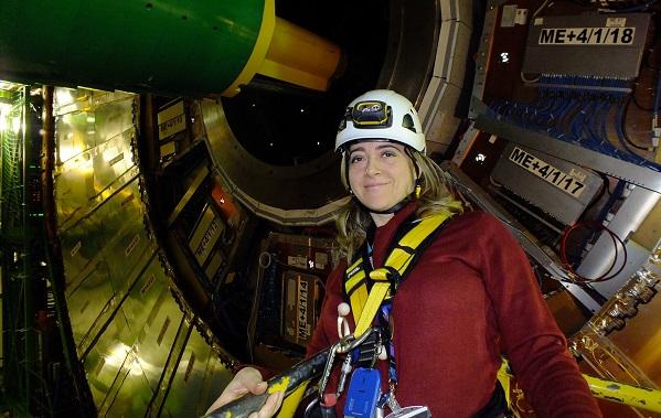 ტექნიკური უნივერსიტეტში სამუშაო ვიზიტით  CERN-ის მეცნიერი გაბრიელა პულიეზე იმყოფებოდა