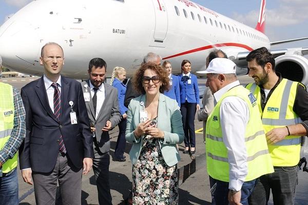 თბილისის საერთაშორისო აეროპორტში საჰაერო ხომალდების 6 ახალი სადგომი გაიხსნა