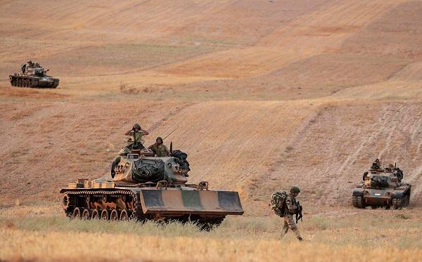 სირიელი ქურთების ინფორმაციით, თურქეთის ოპერაციის შედეგად 218 მშვიდობიანი მოქალაქეა დაღუპული