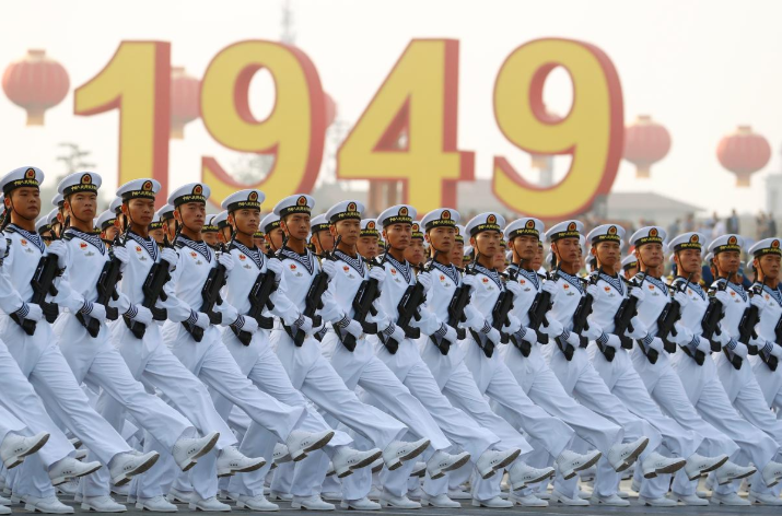 ჩინეთი კომუნისტური პარტიის მმართველობაში მოსვლის 70 წლის იუბილეს აღნიშნავს | ფოტო