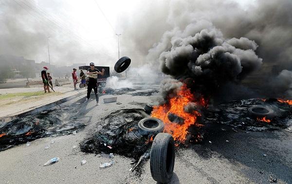 ერაყში ანტისამთავრობო აქციების დროს 104 ადამიანი დაიღუპა