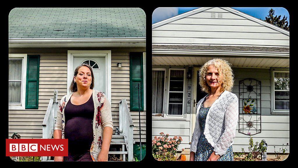 ამერიკელმა ქალმა აღმოაჩინა რომ მეზობლად თავისი დაკარგული ბიოლოგიური და ცხოვრობდა |ვიდეო