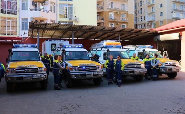 ბათუმის სასწრაფო-სამედიცინო დახმარების ცენტრის ავტოპარკი განახლდა