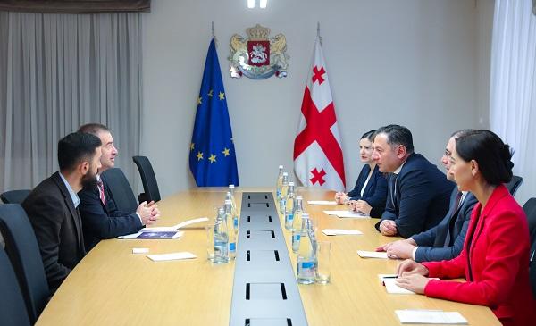 შინაგან საქმეთა მინისტრი საქართველოში ევროპის საბჭოს ოფისის ხელმძღვანელს შეხვდა