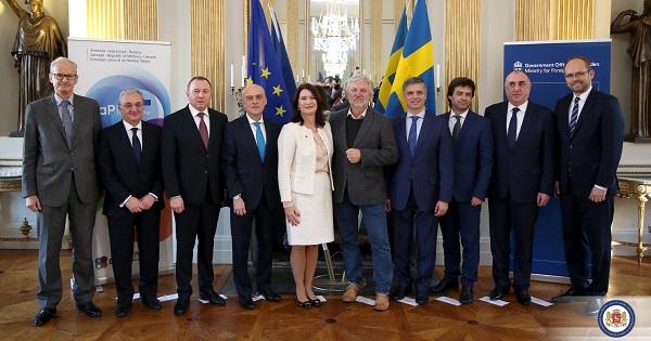 ჩვენ ღია უნდა დავტოვოთ კარი იმ ქვეყნებისთვის, რომლებიც ევროკავშირში გაწევრიანებას ესწრაფვიან - შვედეთის საგარეო საქმეთა მინისტრი