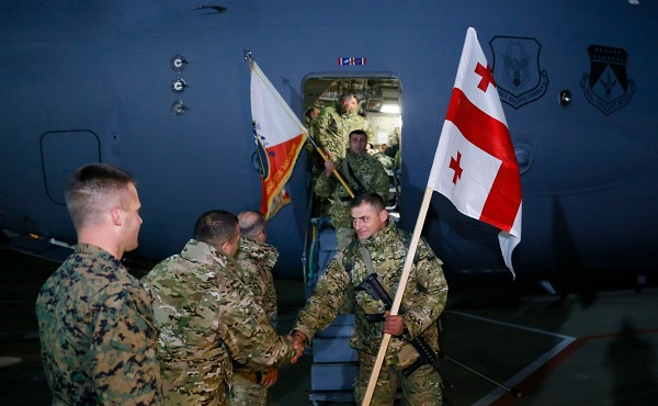 43-ე ბატალიონი ავღანეთიდან სამშობლოში სრული შემადგენლობით დაბრუნდა