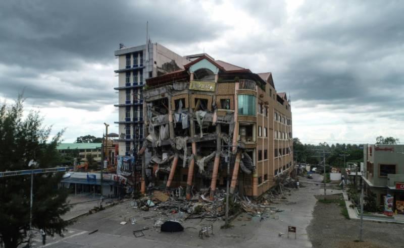 ფილიპინებზე განმეორებით მომხდარ მიწისძვრას 5 ადამიანი ემსხვერპლა