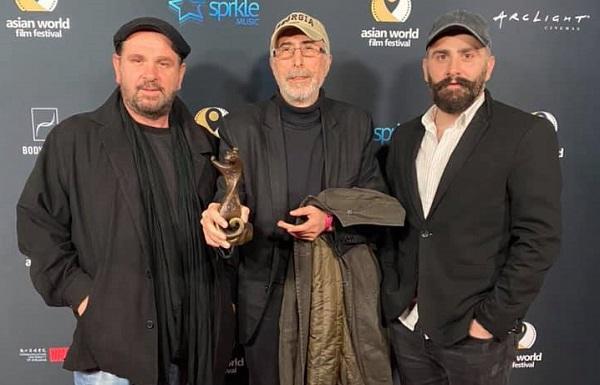 ჰოლივუდში აზიური ფილმების მსოფლიო ფესტივალზე დიტო ცინცაძეს საუკეთესო რეჟისორის ჯილდო გადასცეს ფილმისთვის
