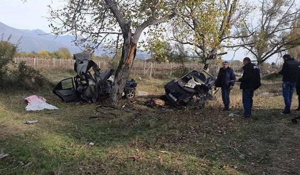 ავარიას ყვარელში სამი ადამიანი ემსხვერპლა