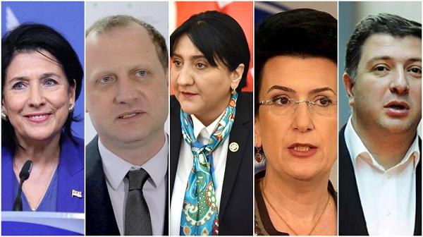 პოლიტიკოსთა ნეგატიური რეიტინგები - IRI კვლევა