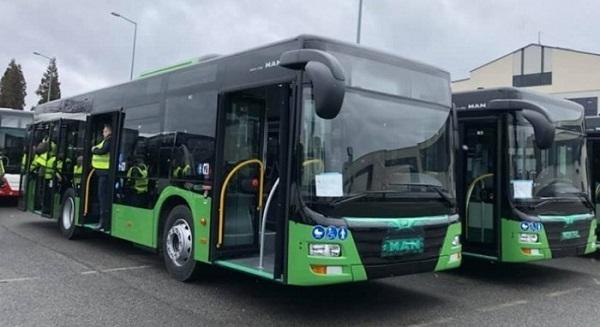 ახალი ავტობუსები კიდევ 6 მარშრუტზე გავიდნენ