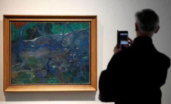 აუქციონზე პოლ გოგენის ნახატი 9.5 მლნ ევროდ გაიყიდა