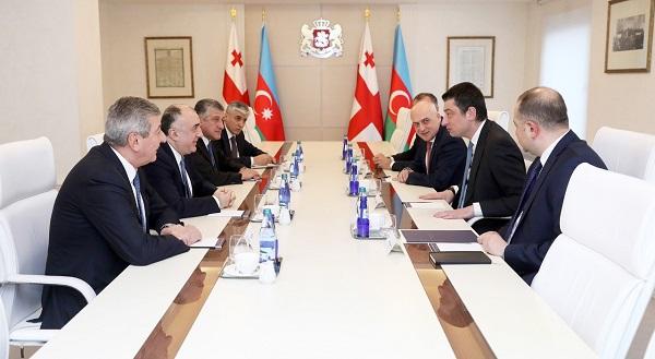საქართველოს პრემიერ-მინისტრმა და აზერბაიჯანის საგარეო საქმეთა მინისტრმა რეგიონული მნიშვნელობის ერთობლივი პროექტები განიხილეს