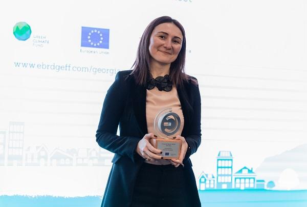 თიბისი ბანკმა ენერგოეფექტური პროექტების დაფინანსებისთვის EBRD-ის ჯილდო მიიღო