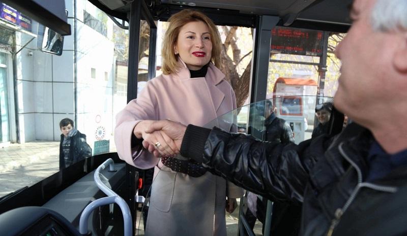 ზღვისუბანში ძველი ავტობუსების ახალი ევროპული სტანდარტის ტრანსპორტით ჩანაცვლების პროცესი გრძელდება