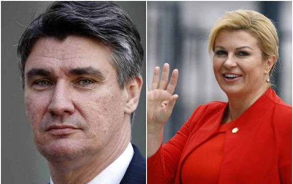 ხორვატიაში საპრეზიდენტო არჩევნების მეორე ტურში მოქმედი პრეზიდენტი და ყოფილი პრემიერ-მინისტრი მიიღებენ მონაწილეობას