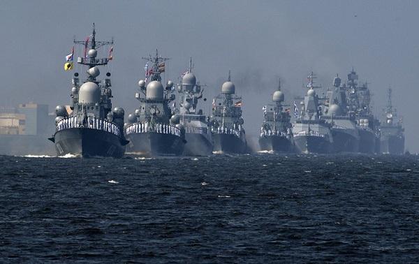 რუსეთმა, ირანმა და ჩინეთმა ინდოეთის ოკეანეში ერთობლივი სამხედრო წვრთნები დაიწყეს