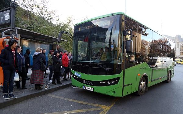 დღეიდან N 80 სამარშრუტო ხაზზე ახალი ავტობუსი იმოძრავებს