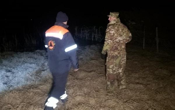 მაშველები ჯანდარას ტბაზე დაკარგულ ორ მამაკაცს მთელი ღამე ეძებდნენ