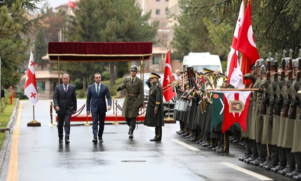 თადაცვის მინისტრი ოფიციალური ვიზიტით თურქეთის რესპუბლიკაში იმყოფება