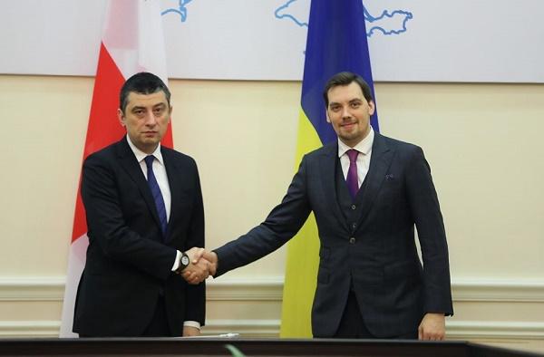 საქართველოსა და უკრაინის პრემიერ-მინისტრებმა საერთო ევროპულ პერსპექტივასა და ეკონომიკური თანამშრომლობის გაღრმავებაზე ისაუბრეს