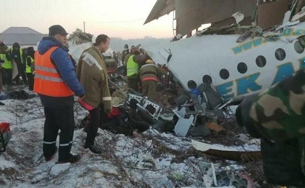 ავიაკატასტროფას ყაზახეთში 15 ადამიანი ემსხვერპლა