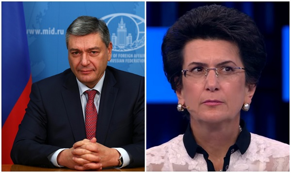 ნინო ბურჯანაძე რუსეთის საგარეო საქმეთა მინისტრის მოადგილეს შეხვდა