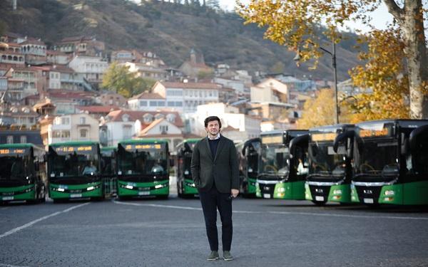 კახა კალაძემ ავტობუსები წარადგინა