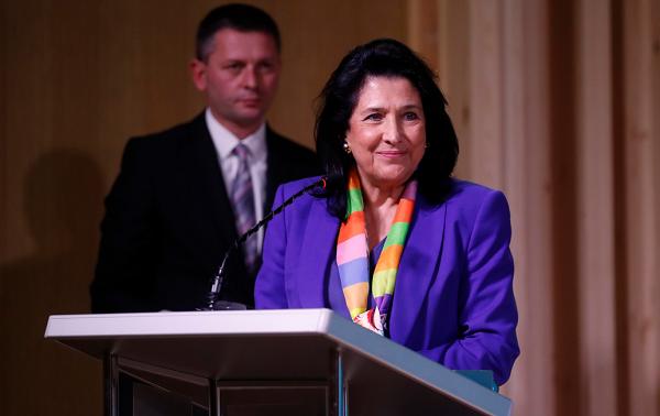 ქართული ფოლკლორი ჩვენი ქვეყნის საზრდოა, რომელშიც ჩვენი მომავლის ძალა დევს - სალომე ზურაბიშვილი