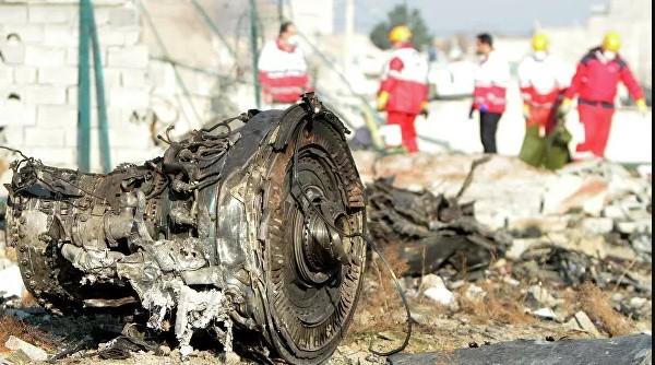 უკრაინული თვითმფრინავი მიწაზე დანარცხებამდე აალდა - ირანის სამოქალაქო ავიაციის ადმინისტრაცია