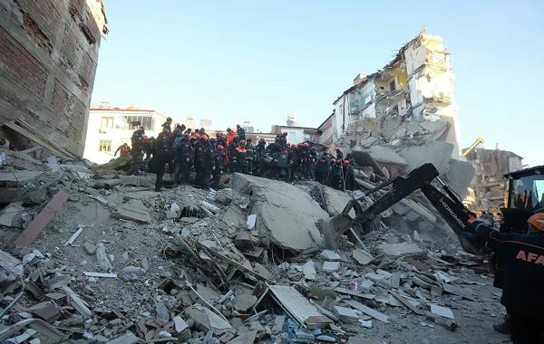 თურქეთში მიწისძვრის შედეგად დაღუპულთა რიცხვი 38-მდე გაიზარდა