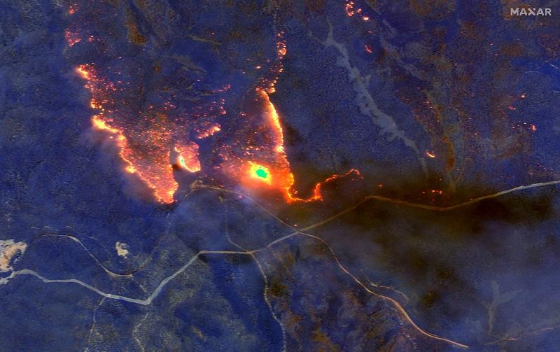 ავსტრალიის ხანძრების შედეგად წარმოშობილმა კვამლმა სამხრეთ ამერიკამდე მიაღწია