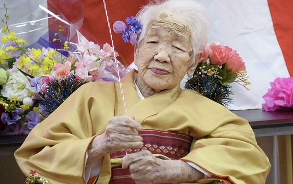 მსოფლიოს უხუცესი ადამიანი 117 წლის გახდა