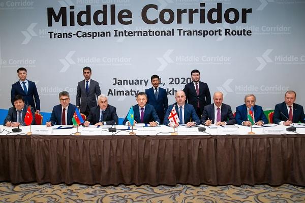 ტრანსკასპიური საერთაშორისო სატრანსპორტო მარშრუტით საკონტეინერო გადაზიდვების მაჩვენებლები რეკორდულად მაღალია